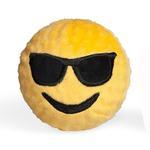 View Image 1 of Emoji Faballs Dog Toy - Playin' It Cool Sunglasses