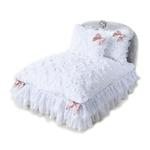 View Image 1 of Enchanted Nights Luxury Dog Bed by Hello Doggie - Sterling