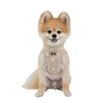 View Image 2 of Ernest Dog Harness Vest by Puppia - Beige