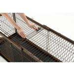 View Image 2 of Expandable Dog Crate Wire Top - Dark Brown