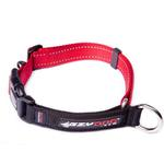 View Image 4 of EzyDog Checkmate Limited-Slip Dog Collar - Red
