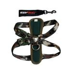 View Image 1 of EzyDog Chest Plate Dog Harness - Green Camo