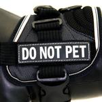 View Image 1 of EzyDog Custom Side Patches for Convert Harness - Do Not Pet