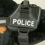 View Image 1 of EzyDog Custom Side Patches for Convert Harness - Police