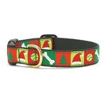 View Image 1 of Christmas List Dog Collar by Up Country