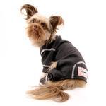 View Image 2 of fabdog® Thermal Dog Pajamas - Charcoal