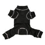 View Image 3 of fabdog® Thermal Dog Pajamas - Charcoal