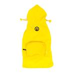 View Image 1 of fabdog® Pocket Fold Up Dog Raincoat - Yellow