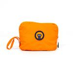 View Image 1 of fabdog® Pocket Fold Up Dog Raincoat - Orange