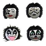 View Image 1 of fabdog® Official KISS Faballs Squeaky Dog Toy - 4 Pack