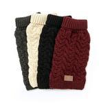 View Image 2 of fabdog® Wool Turtleneck Dog Sweater - Burgundy