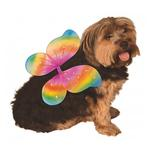 View Image 1 of Fairy Wings Dog Costume - Rainbow