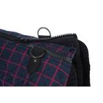 View Image 3 of Fashion Bomber Check Dog Vest by Gooby - Navy