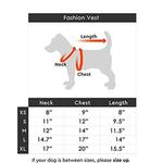 View Image 4 of Fashion Bomber Check Dog Vest by Gooby - Navy