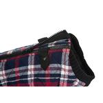 View Image 6 of Fashion Bomber Check Dog Vest by Gooby - White