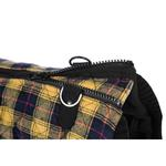 View Image 6 of Fashion Bomber Check Dog Vest by Gooby - Yellow