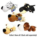 View Image 2 of FatHedz Mini Plush Dog Toy - Golden