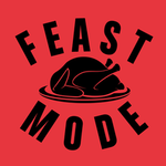 View Image 2 of Feast Mode Dog Shirt - Red