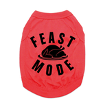 View Image 1 of Feast Mode Dog Shirt - Red
