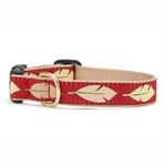 View Image 1 of Feathers Dog Collar by Up Country