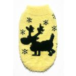 View Image 1 of Feathersoft Moose Dog Sweater By Hip Doggie