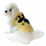View Image 2 of Feathersoft Moose Dog Sweater By Hip Doggie