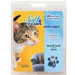 View Image 1 of Feline Soft Claws Nail Caps Home Kit - Green