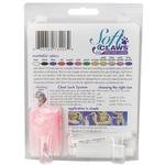 View Image 2 of Feline Soft Claws Nail Caps Home Kit - Pink