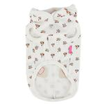 View Image 2 of Fiorella Dog Hoodie by Pinkaholic - Ivory