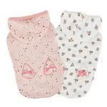 View Image 3 of Fiorella Dog Hoodie by Pinkaholic - Ivory