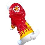 View Image 1 of Fire Chief Dog Raincoat by Cha-Cha Couture