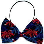 View Image 1 of Fireworks Dog Bow Tie