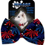 View Image 2 of Fireworks Dog Bow Tie