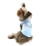 View Image 2 of Fireworks Rhinestone Dog Tank Top - Baby Blue