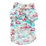 View Image 3 of Flamingo Island Dog Shirt by Dogo