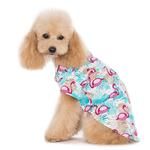 View Image 2 of Flamingo Island Dog Shirt by Dogo