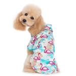 View Image 4 of Flamingo Island Dog Shirt by Dogo