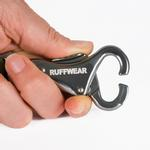 View Image 3 of Flat Out Dog Leash by RuffWear - Obsidian Black