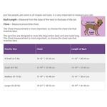 View Image 5 of Fleece Dog Poncho by Poocho - Aztec Purple