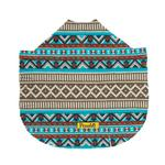 View Image 3 of Fleece Dog Poncho by Poocho - Aztec Teal