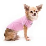 View Image 1 of Fleece Jumper Dog Sweater by My Canine Kids - Pink