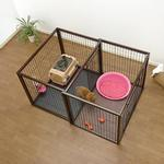 View Image 4 of Flip to Play Pet Crate by Richell