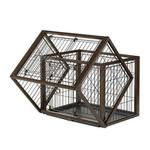 View Image 3 of Flip to Play Pet Crate by Richell
