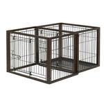 View Image 1 of Flip to Play Pet Crate by Richell