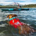 View Image 4 of Float Coat Dog Life Jacket by RuffWear - Sockeye Red