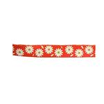 View Image 1 of Flower 5' Dog Leash by Cha-Cha Couture - Orange