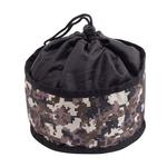 View Image 1 of Foldable Dog Travel Bowl by Doggles - Camo