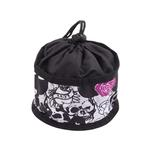 View Image 1 of Foldable Dog Travel Bowl by Doggles - Skull & Rose