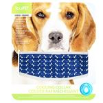 View Image 1 of fouFIT Cooling Dog Collar - Blue