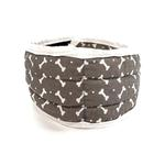 View Image 2 of fouFIT Cooling Dog Collar - Grey